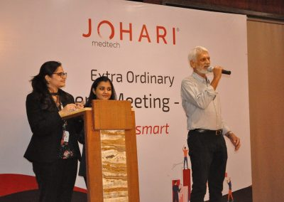 Mothicational Speech of Mr. Satyendra Johari