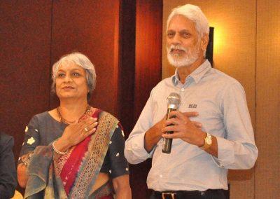 Satyendra and Nisha Johari